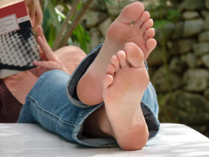 bare foot image